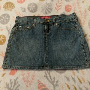 Jean Mini-Skirt